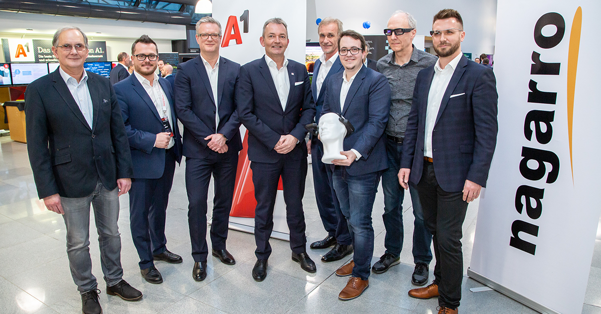 A1 Telekom and Nagarro connect companies and employees through smart glasses-1