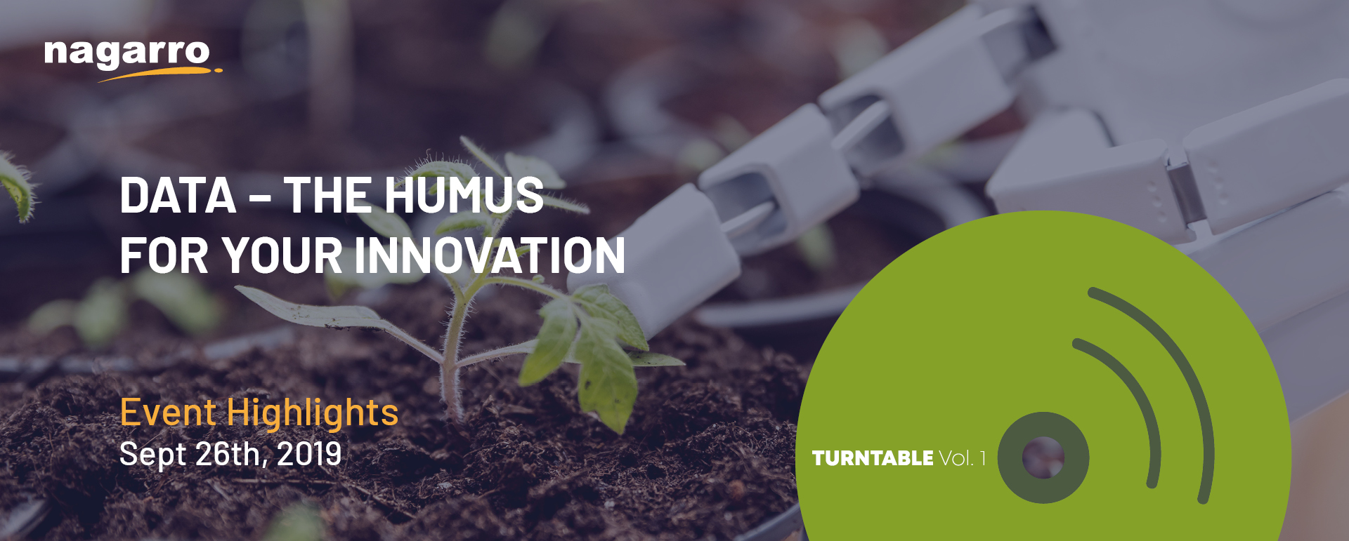 Data - The humus for your innovation