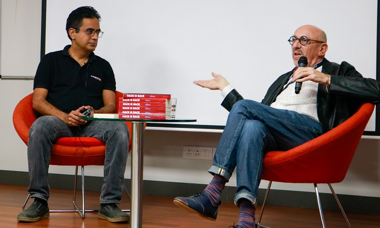 the second speaker session of Converse@Nagarro was with bestselling author, Stanley Moss discussing his books, writing experiences and Nagarro