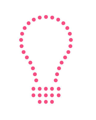 Bulb Ideation pink-1