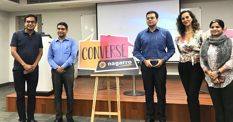 "the first speaker session of Converse@Nagarro was on ""Making Cities Safer by Design"", road safety and Haryana Vision Zero"