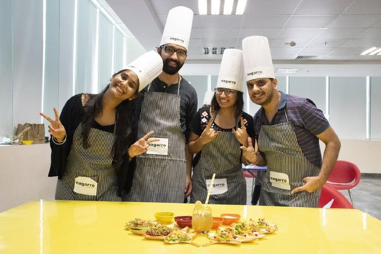 Corporate chef challenge - Bonding over food – Nagarro