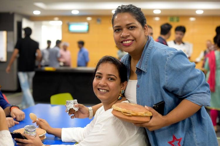 Relishing traditional biryani as part of Eid festivities – Bonding over food – Nagarro