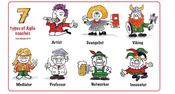 Seven types of Agile coaches, Els Verkaik