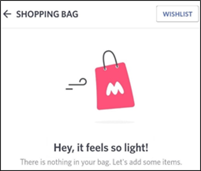 Shopping Bag_How good UX writing creates better customer experience and a successful app