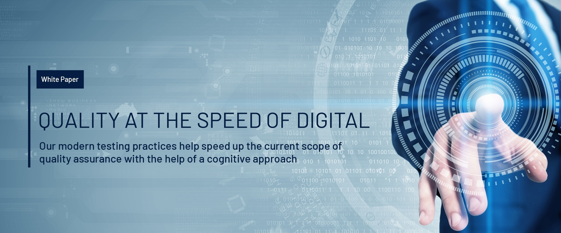 Quality at the speed of digital