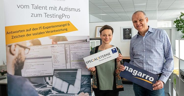 Christine Krautzer, Specialisterne and Hannes Faerberboeck, Nagarro