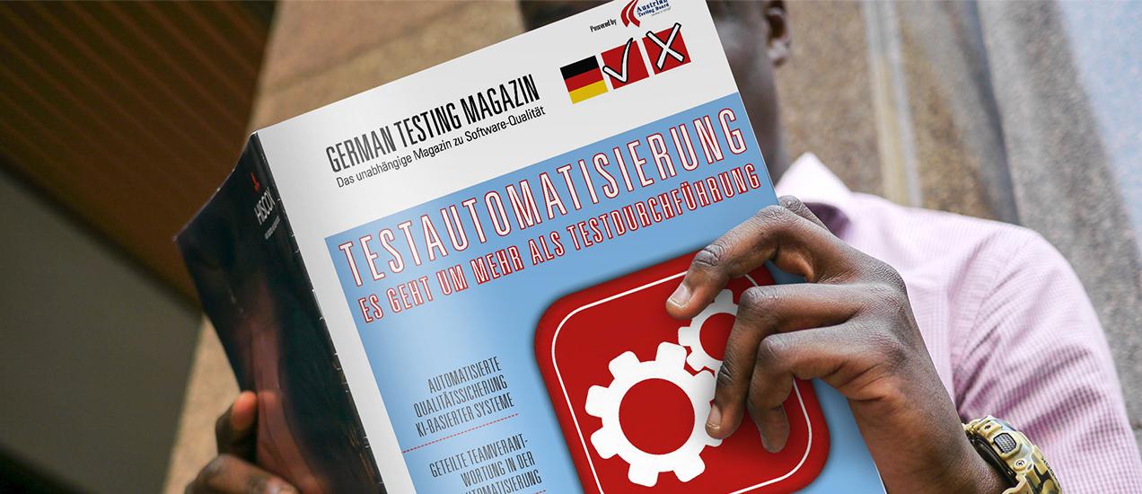 Geballtes Testing Know-how von Nagarro im German Testing Magazin