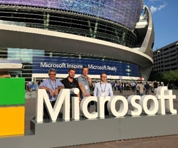 Las Vegas calling: Team Nagarro at the Microsoft Inspire 2018