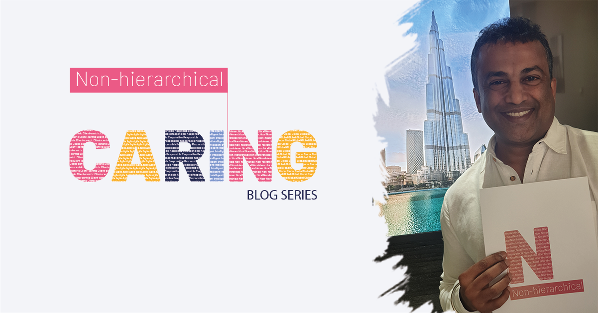 CARING@Nagarro: Ajit Appachu on being 'Non-hierarchical'