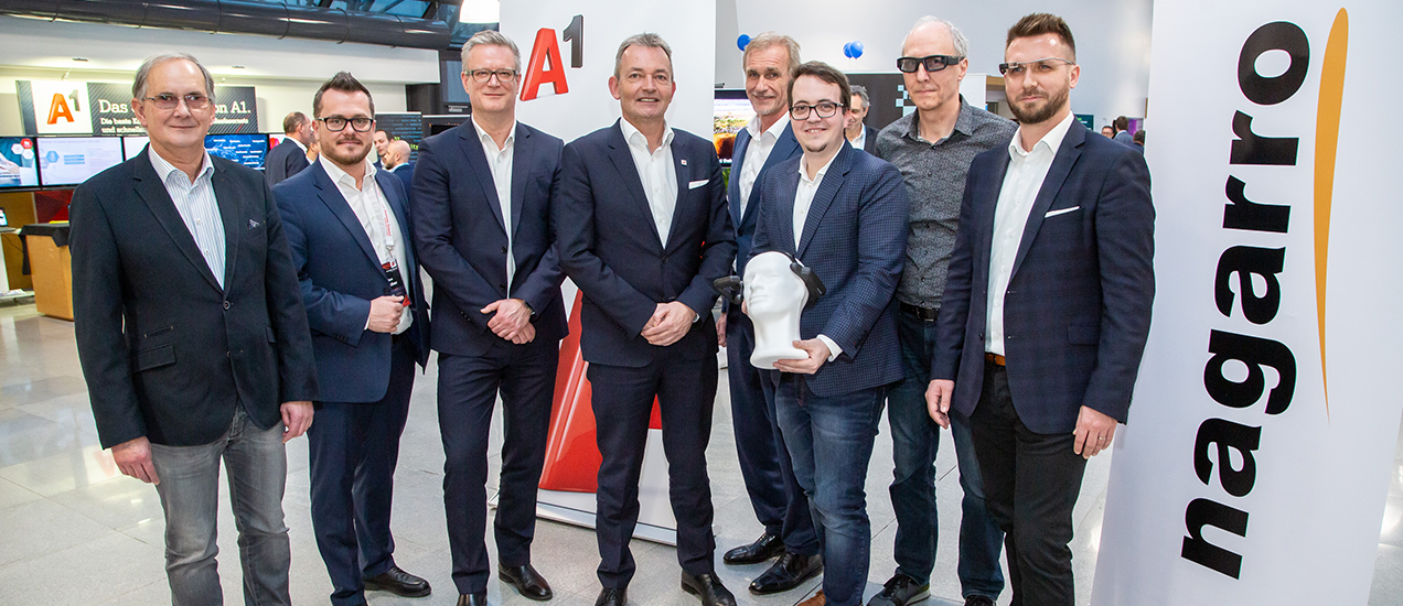 A1 Telekom and Nagarro connect companies and employees through smart glasses