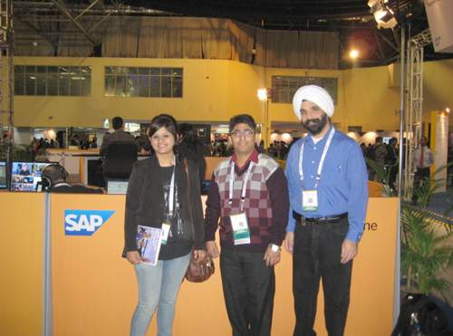 Nagarro Team attends SAP TechED 2013