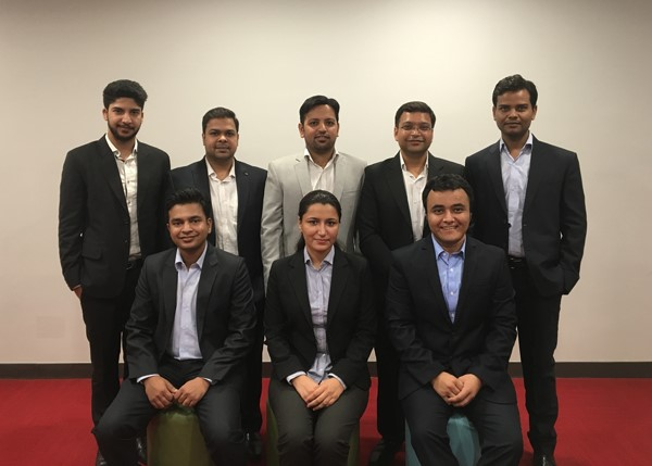 The Nagarro project team from India