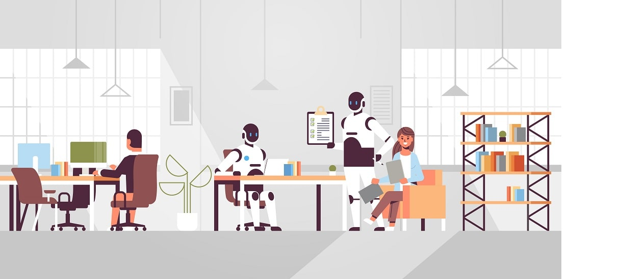 Artificial intelligence at workplaces